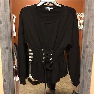 Express Tie Waist One Eleven Sweater Size XS